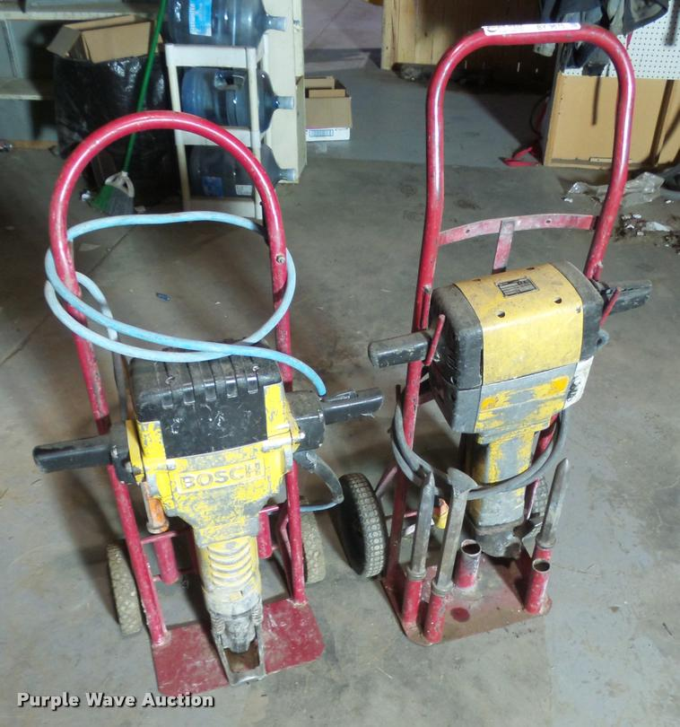 (2) electric jack hammers