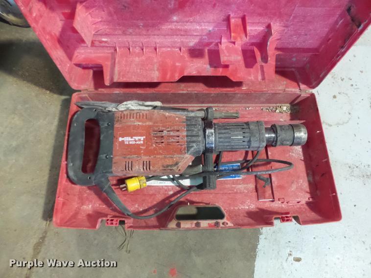 Hilti demolition hammer