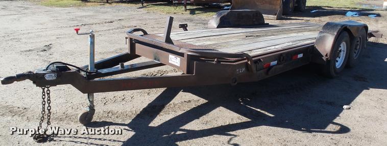 1998 Big Tex tilt deck trailer