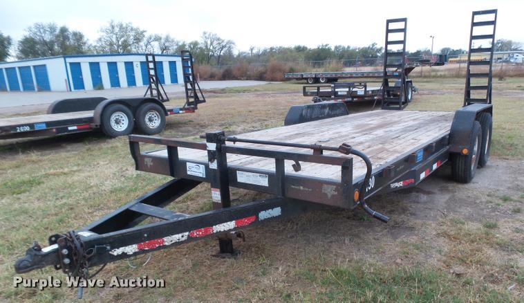 2008 PJ utility trailer