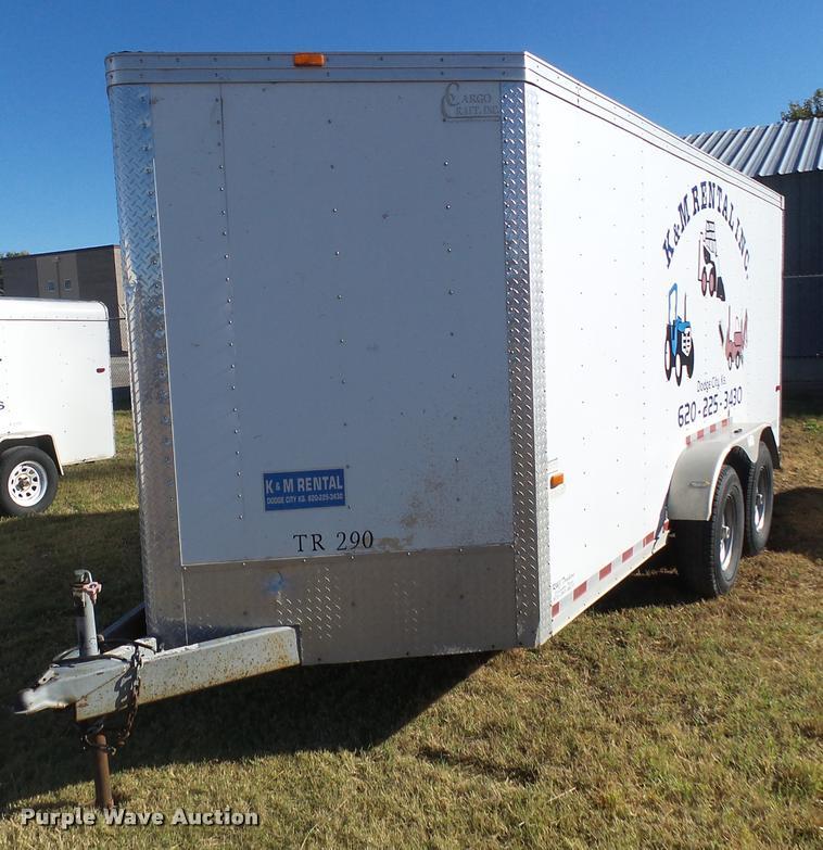 2009 Cargo Craft enclosed cargo trailer