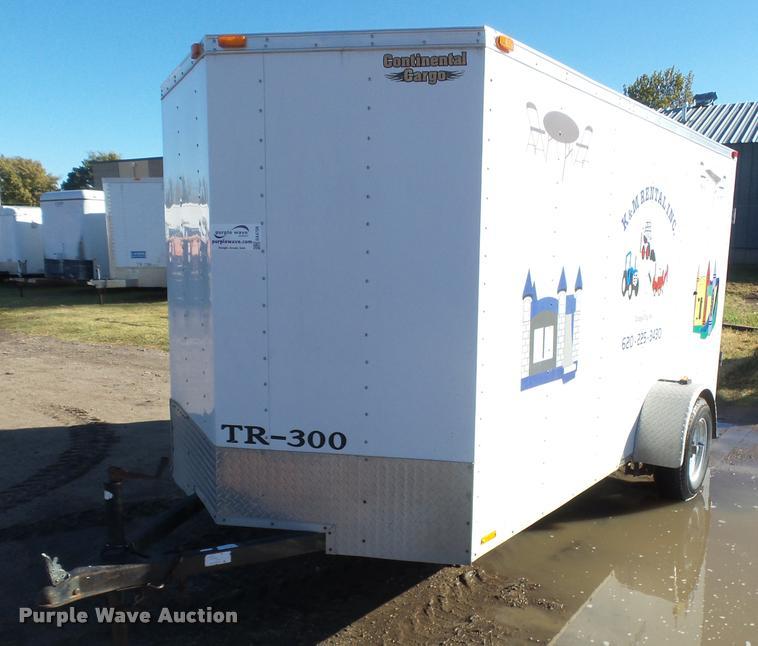 2006 Continental enclosed cargo trailer