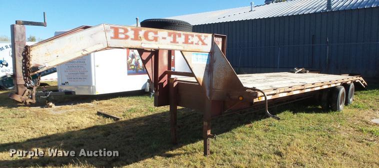 1997 Big Tex equipment trailer
