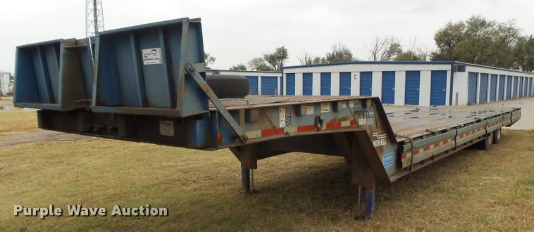 1978 Muvall 4451T equipment trailer