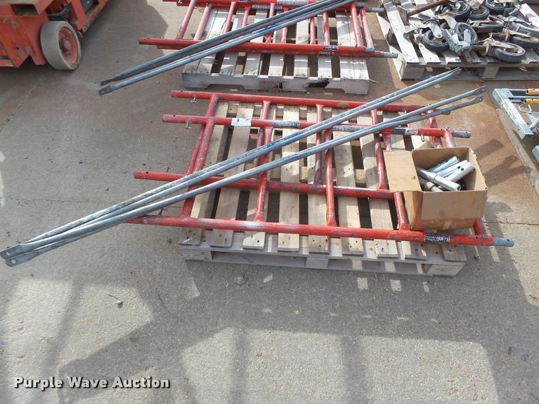 Ladder scaffolding