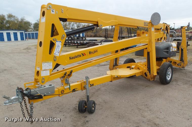 2013 Haulotte 5533A boom lift