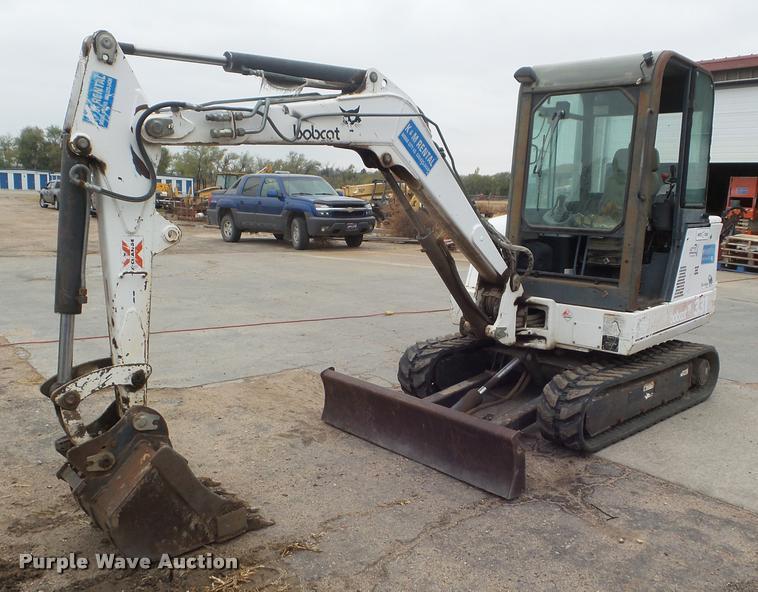 2000 Bobcat 331 compact excavator