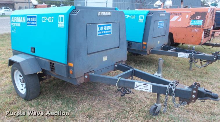 2012 Air Man PDS1855 air compressor