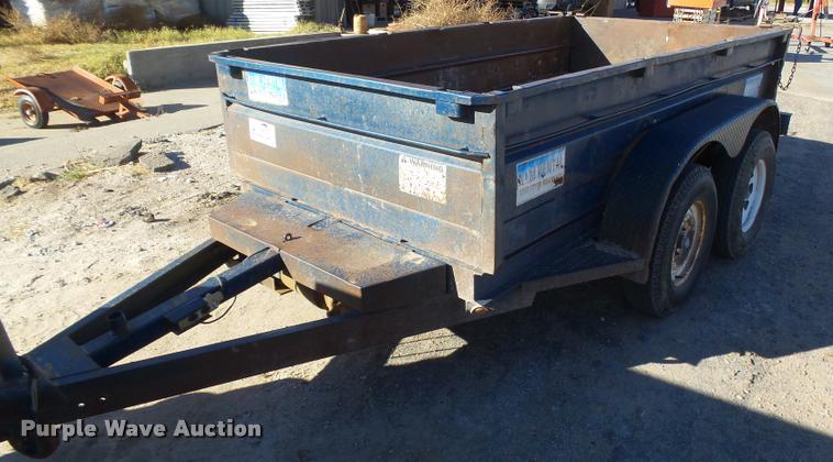 1997 Big Tex dump trailer