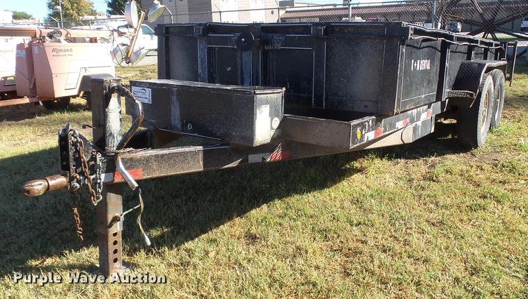 2004 Titan 14 dump trailer