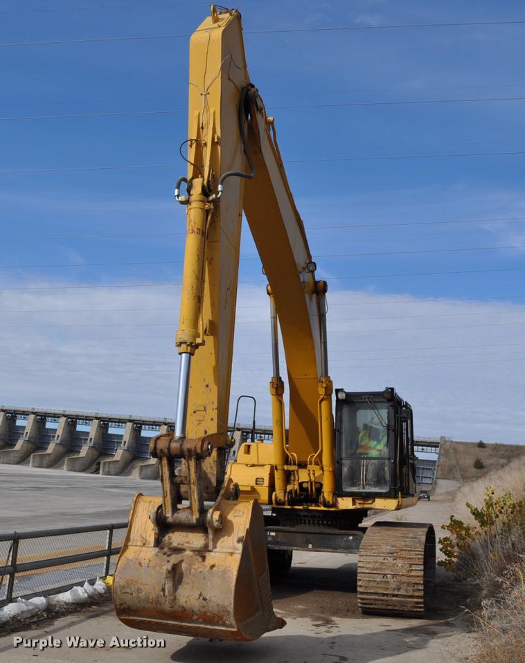 1999 Caterpillar 345B L excavator