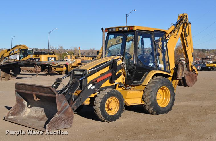 1999 Caterpillar 416C backhoe