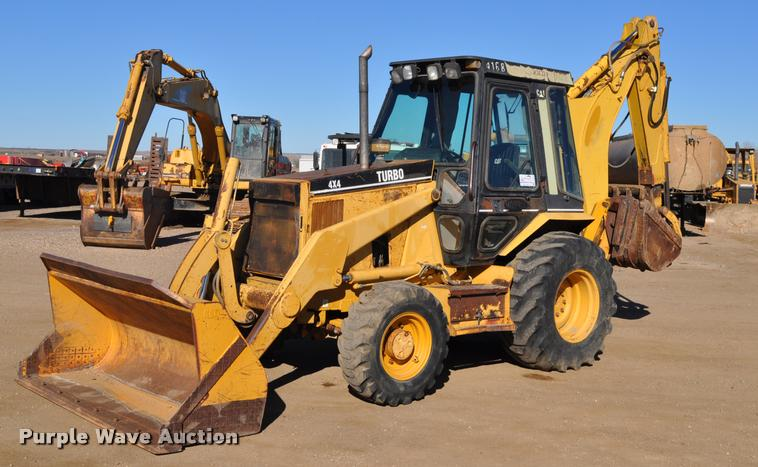 1993 Caterpillar 416B backhoe