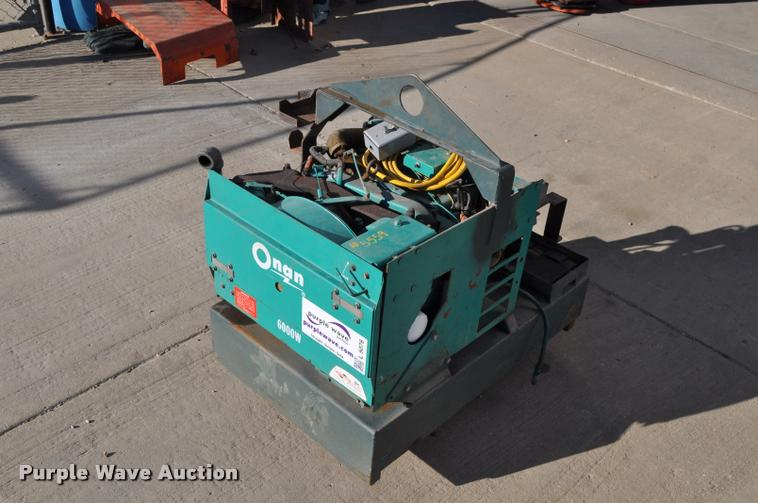Onan 6.0NH-1R/9000H generator