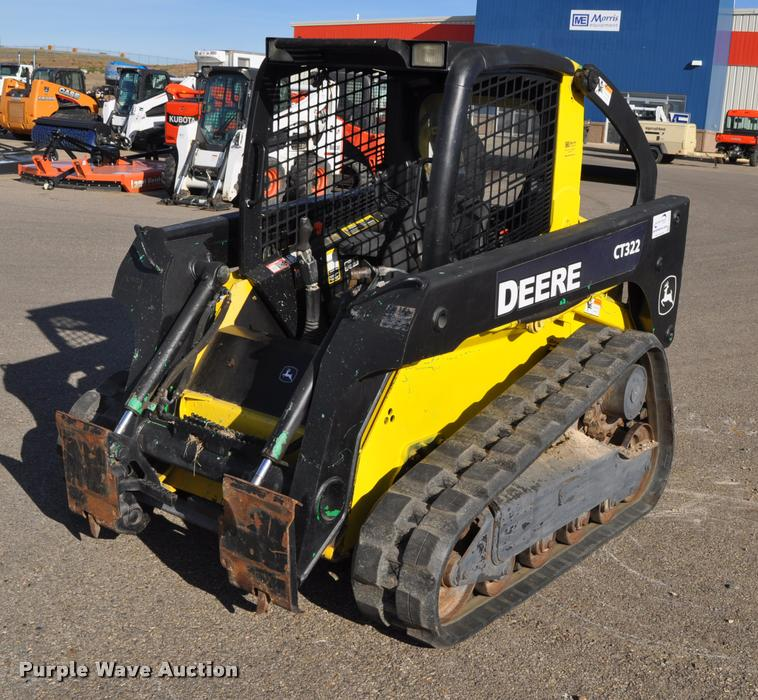 2007 John Deere CT322 skid steer