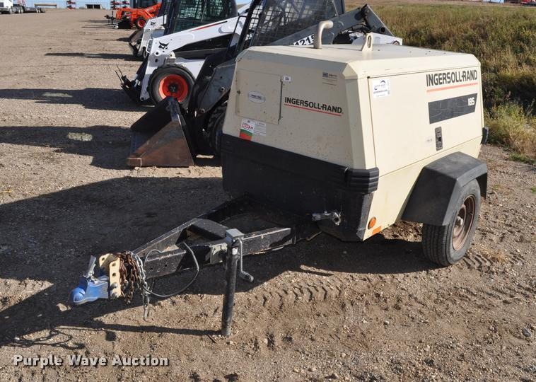 1999 Ingersoll Rand P185WJD air compressor