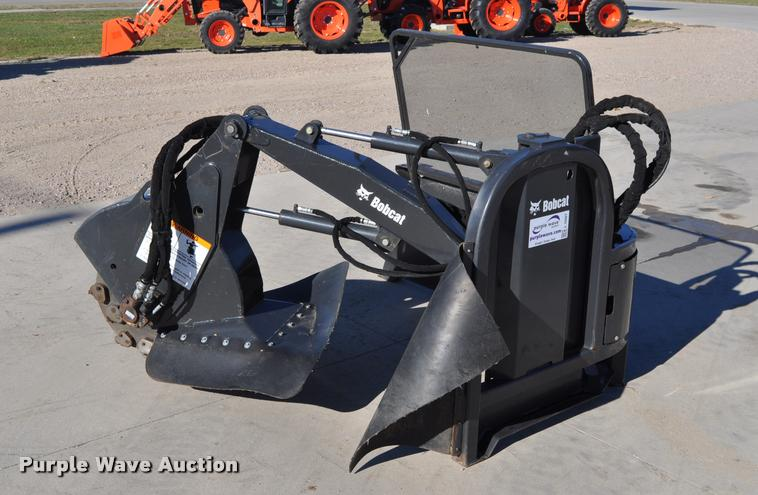 2013 Bobcat SG60 skid steer stump grinder