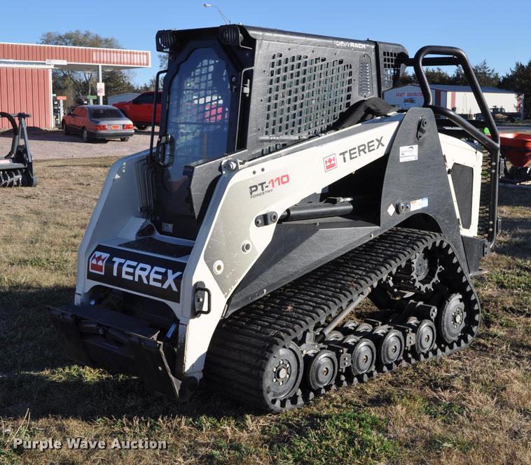 2013 Terex PT110F skid steer
