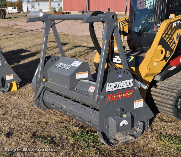 2013 Loftness 63QAH208AAAA03 Kwik Ax mulching head