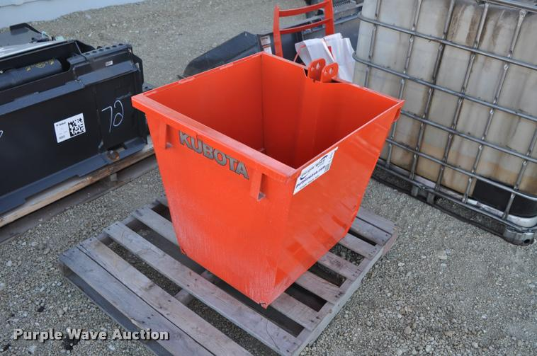 Kubota Ballast Box : Morris companies equipment reduction auction in by