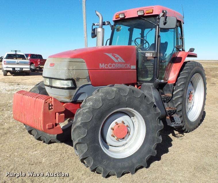 2006 McCormick MTX135 MFWD tractor