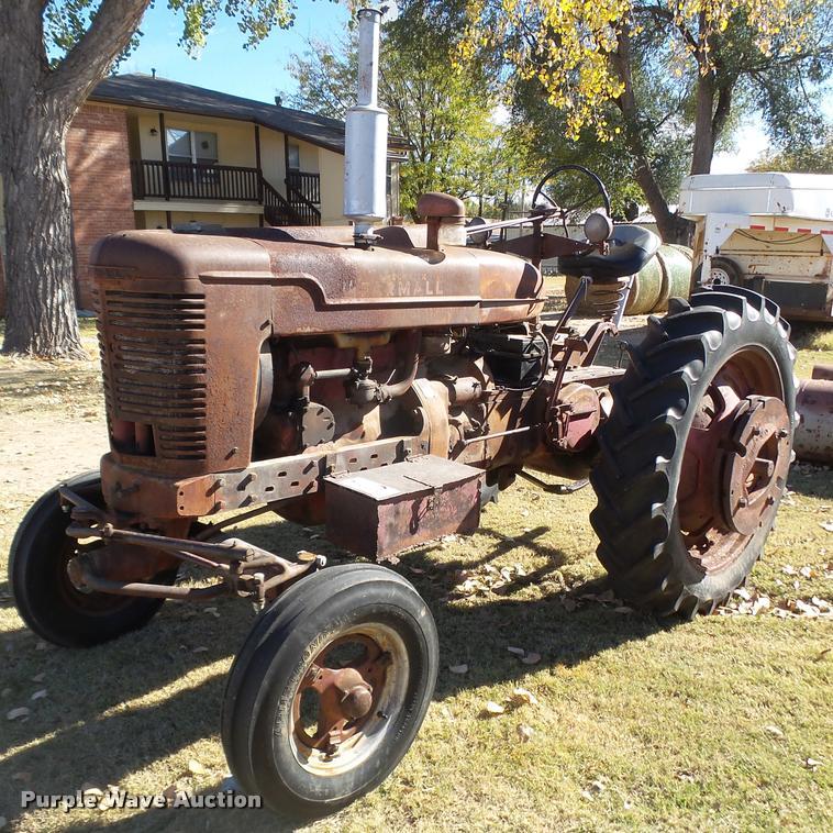 1942 Farmall M tractor