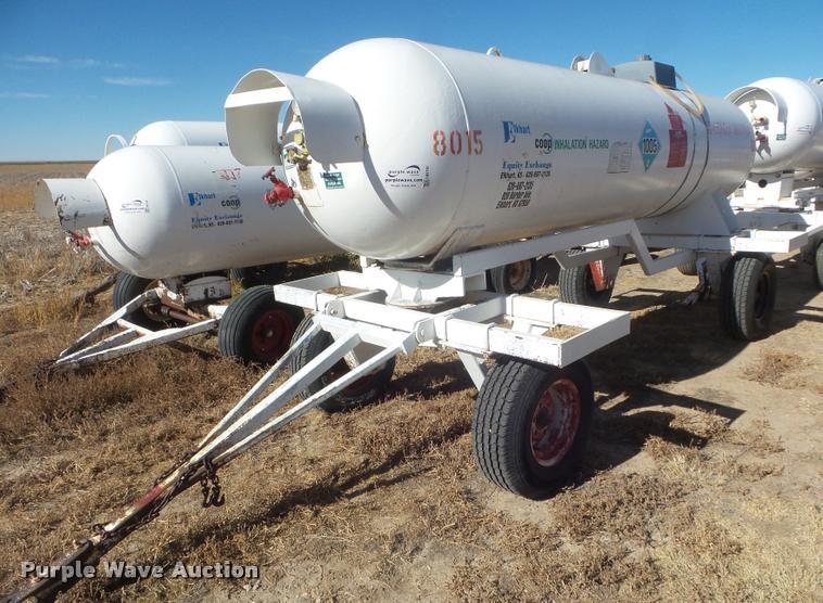Anhydrous ammonia tank