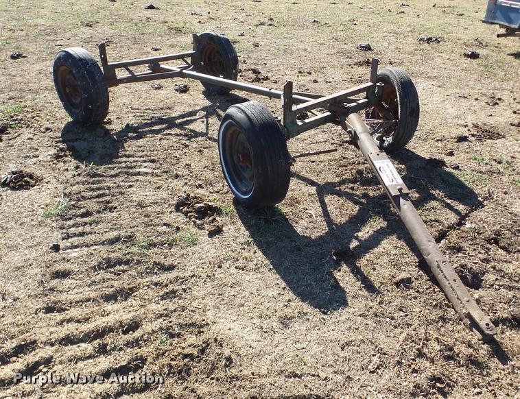 John Deere wagon running gear