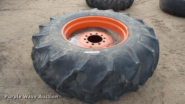 Goodyear 23.1-34 tire and wheel