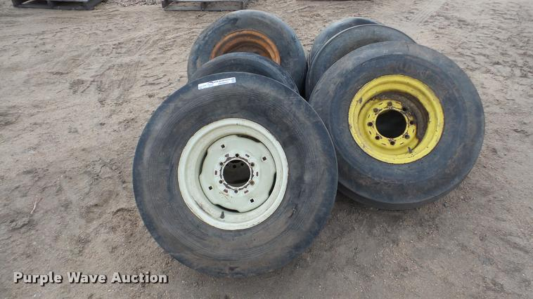 (9) ag tires and wheels