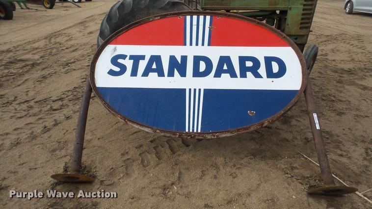 Standard steel sign