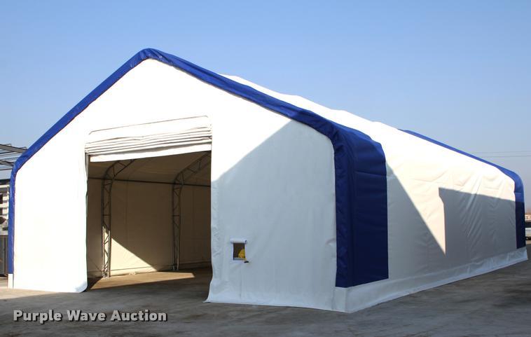 40' x 60' x 23' double truss storage building