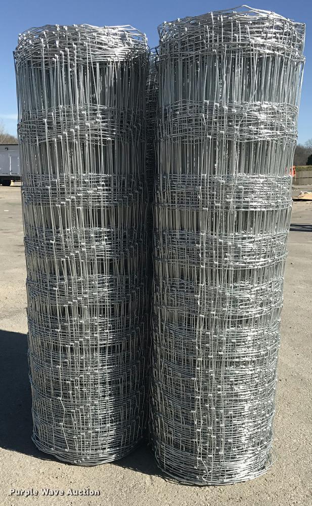 (5) rolls of class 1 field fence