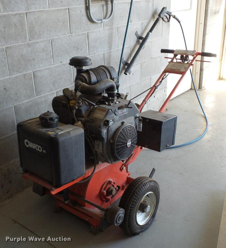 Craftco 200 pavement cutter