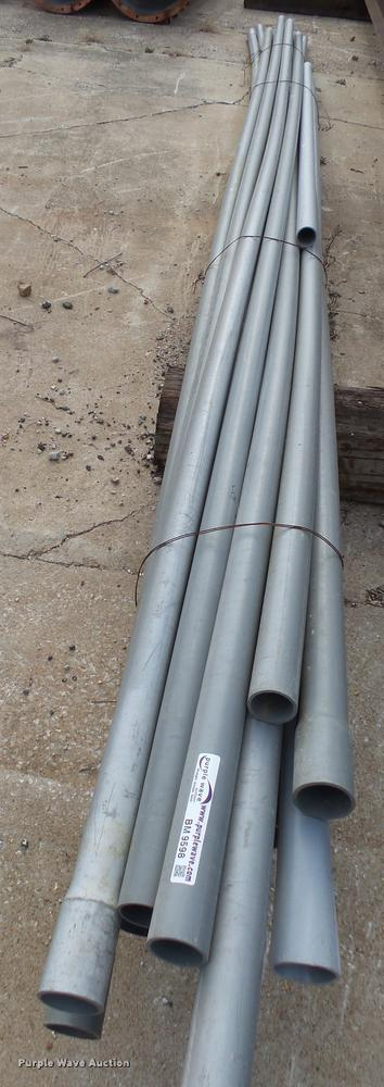 Rigid Schedule 40 PVC electric conduit