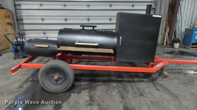 Shop built smoker