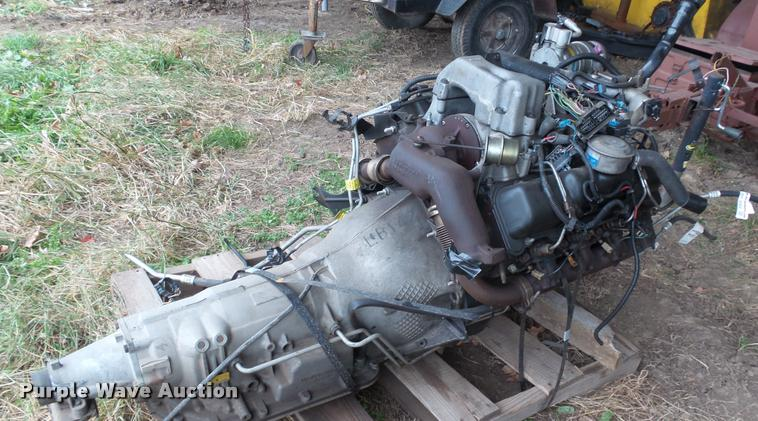 2001 Chevrolet 6.5L diesel engine