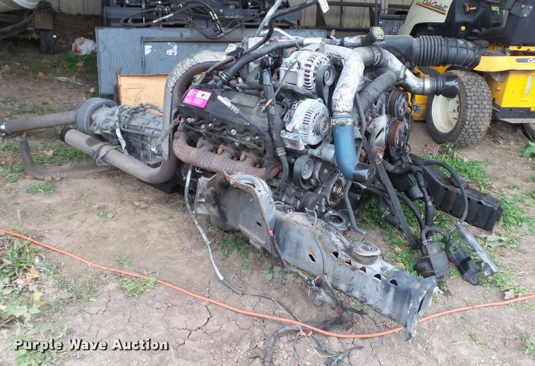 2006 International Harvester A235 6.0L turbo diesel engine