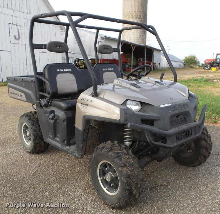 2009 Polaris Ranger 700 XP Special Edition utility vehicle