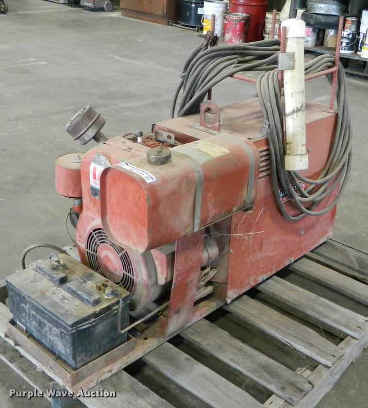 Lincoln Weld and Power AC/DC welder