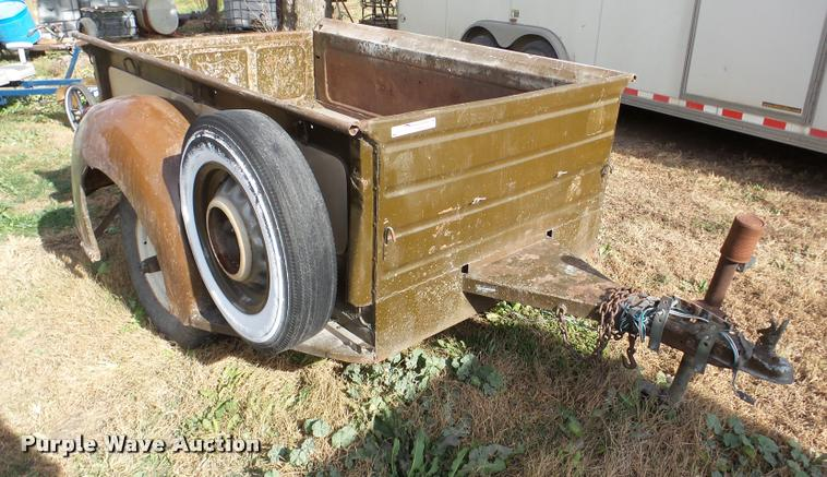 Ford pickup bed trailer