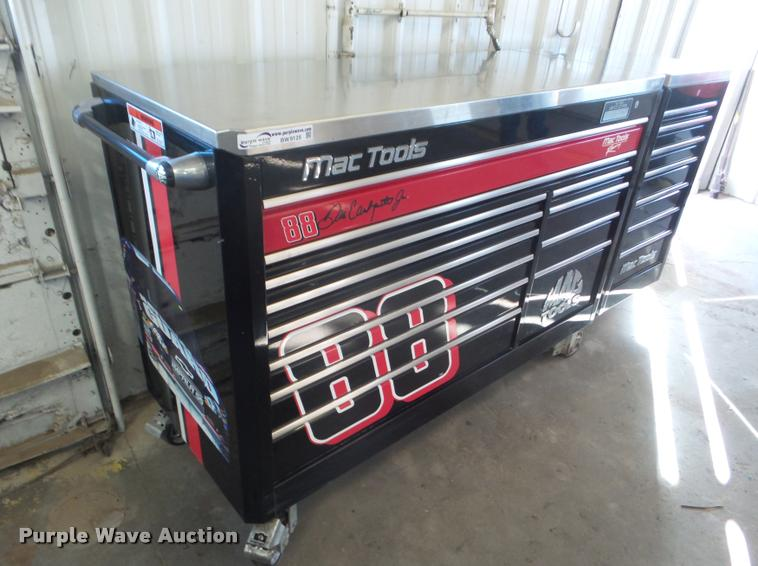 Mac Dale Earnhart Jr. Edition toolbox