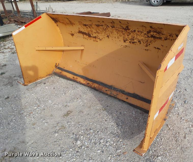 Skid steer box blade