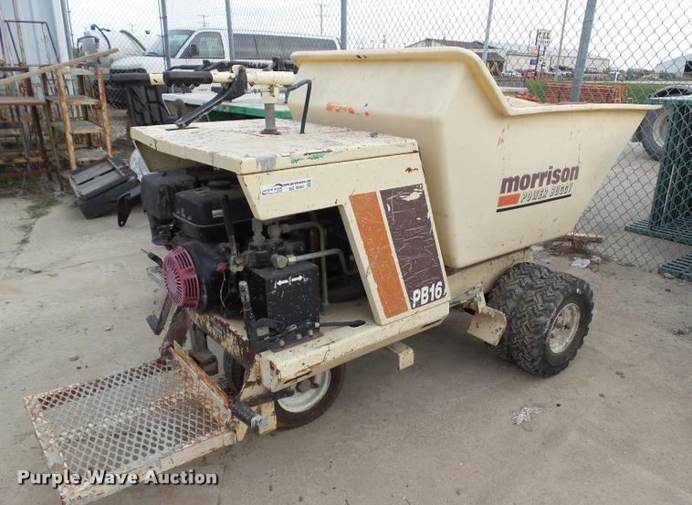 Morrison OMPB16 power buggy