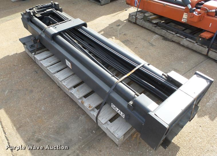 Crown forklift straight mast