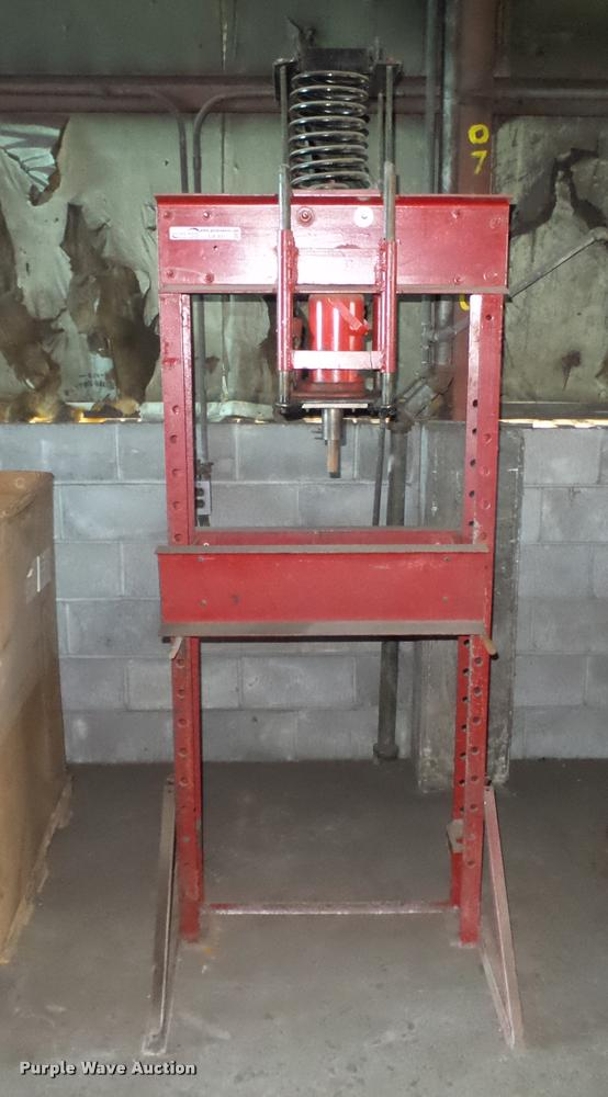 Shop built press