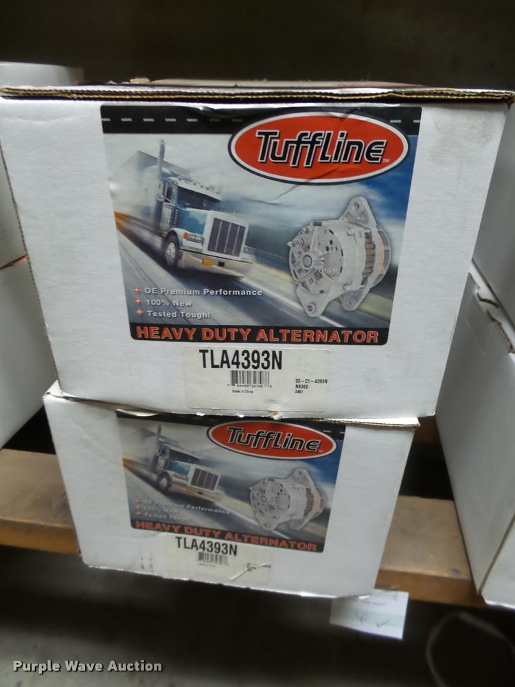 (2) Tuffline alternators