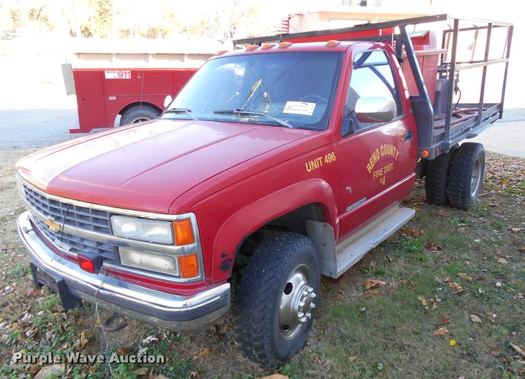 1990 Chevrolet 3500 brush fire truck