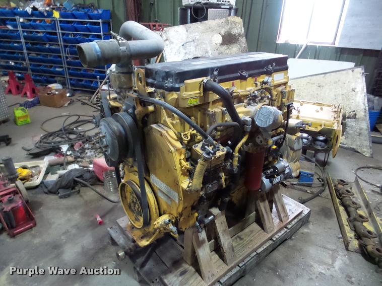 Caterpillar C13 12.5L six cylinder turbo diesel engine
