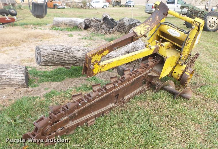 Vermeer trencher attachment
